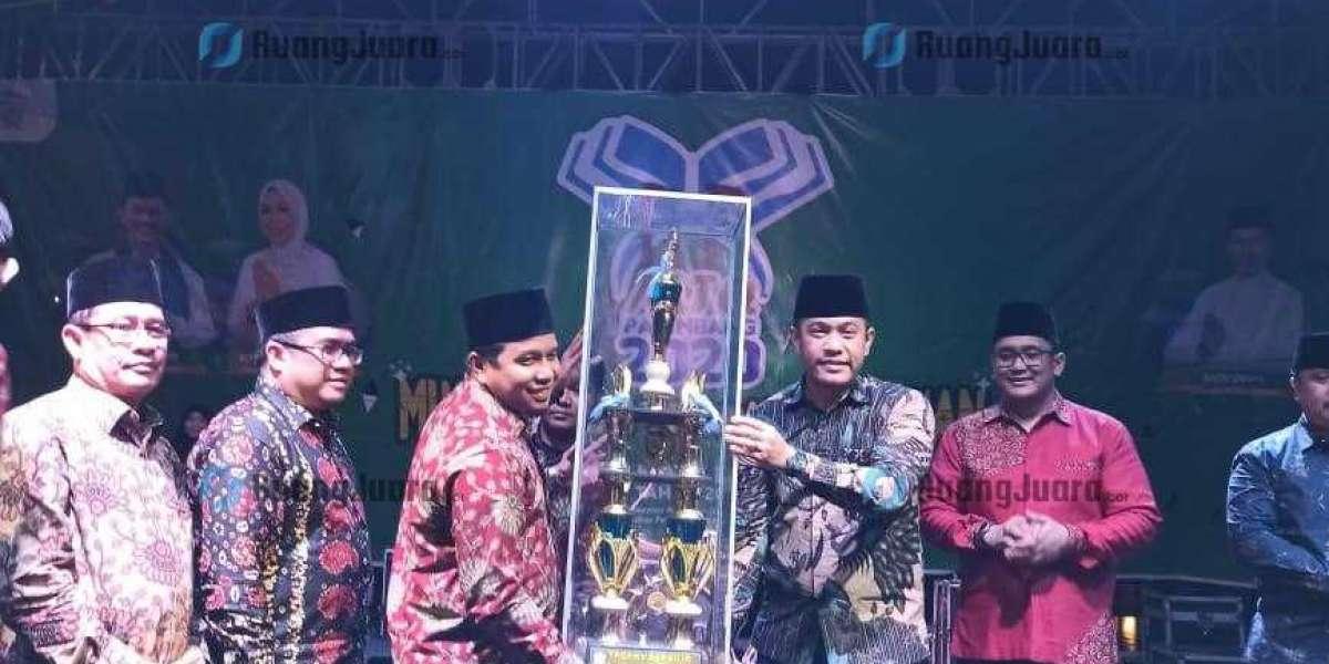 Kecamatan Alang-alang Lebar Sabet Juara Umum pada Lomba MTQ ke-31  Tingkat Kota Palembang