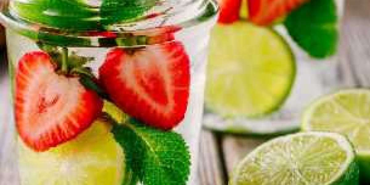 Cara Membuat Infused Water  segar dan alami!  Berikut resepnya!