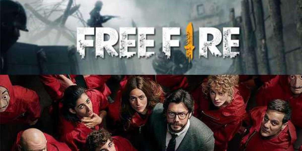 FREE FIRE KOLABORASI DENGAN SERIAL NETFLIX MONEY HEIST (LA CASA DE PAPEL)
